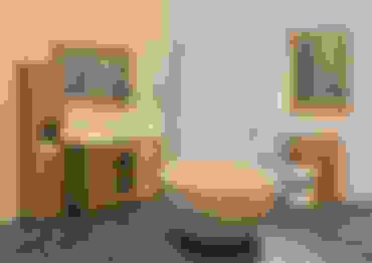 Projekty,  Łazienka zaprojektowane przez Stonearth Interiors Ltd