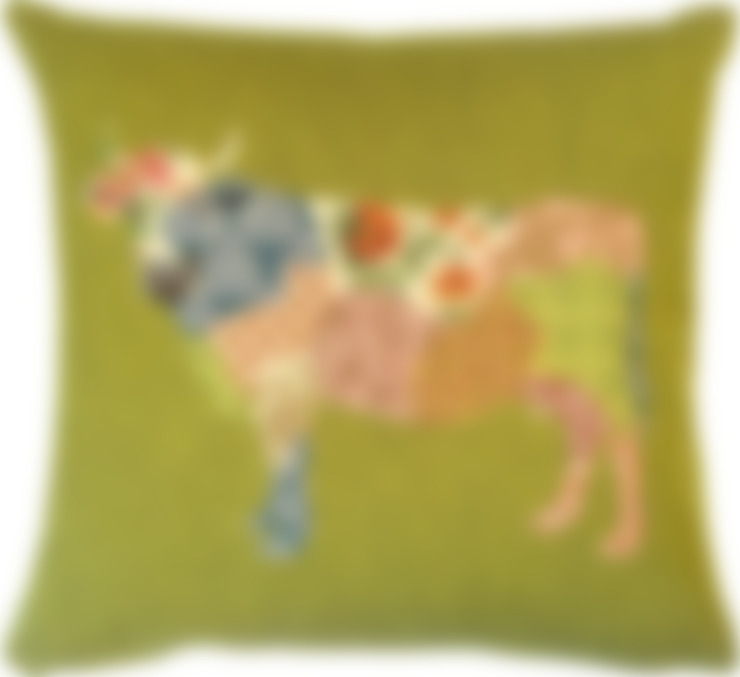 Patchwork Deers: Salon de style  par FS Home Collections