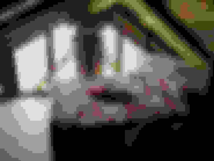 Dormitorios de estilo  por zanella architettura