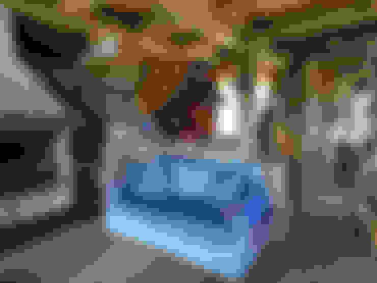 Living room by zanella architettura