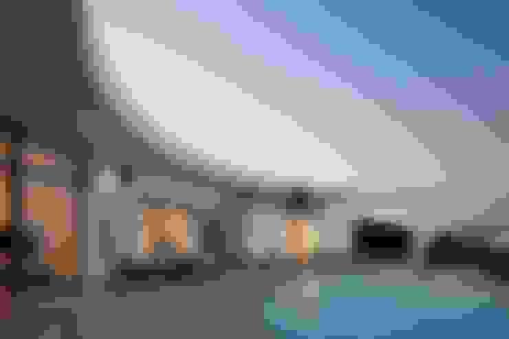 Projekty,  Domy zaprojektowane przez Reflexões Contemporary Design