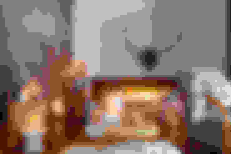 Living room by Bougies la Française