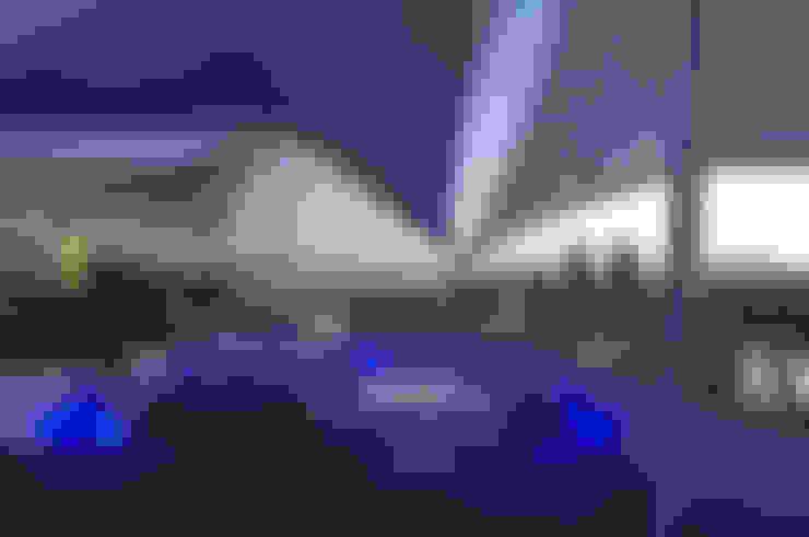 Skyview Polanco: Terrazas de estilo  por ARCO Arquitectura Contemporánea