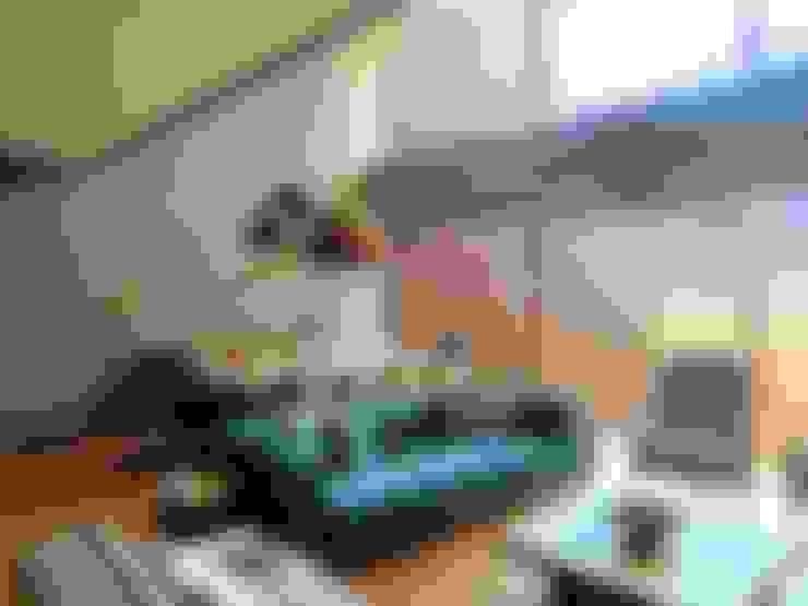 Visage Home Style – A project in İzmir, Turkiye.  - İzmir'de uygulaması bize ait bir projenin salonundan bir kare.:  tarz Oturma Odası