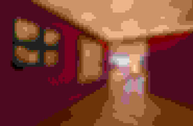 Couloir et hall d'entrée de style  par Lopez Duplan Arquitectos