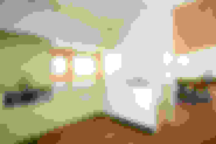 Cocinas de estilo  por 一級建築士事務所 アトリエ カムイ
