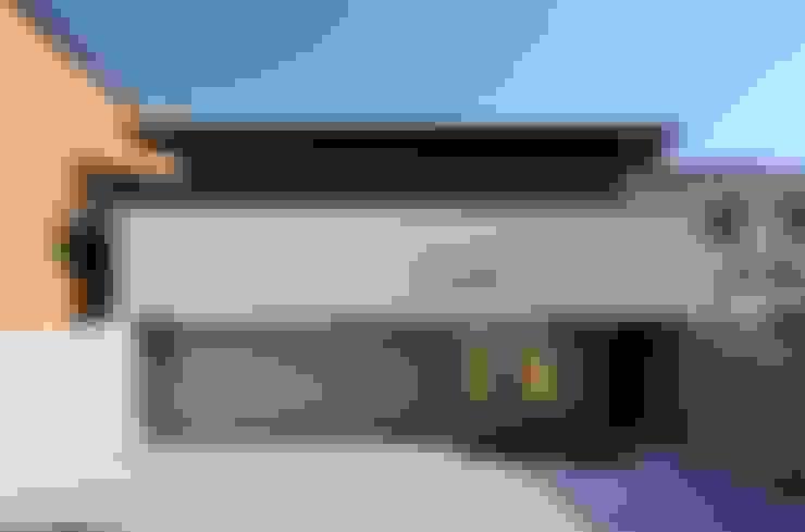 車庫/遮陽棚 by 設計組織DNA