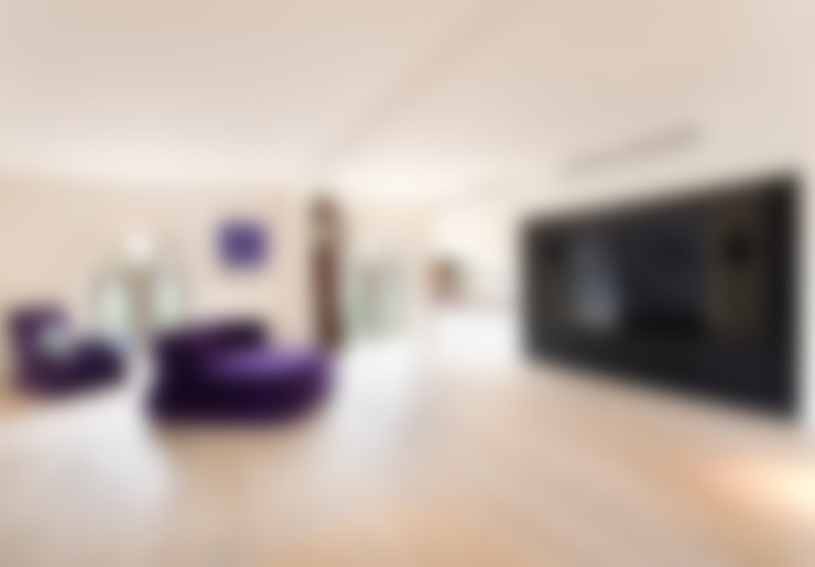 غرفة المعيشة تنفيذ London Residential AV Solutions Ltd