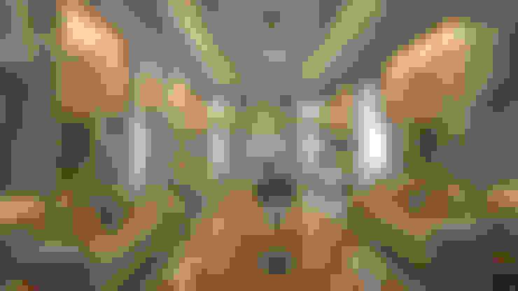 Villa Interior:  Bedroom by TOPOS+PARTNERS