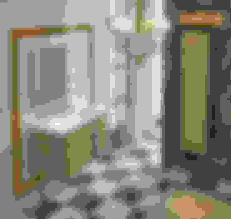Baños de estilo  por Muebles Flores Torreblanca