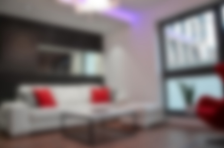 Projekty,  Salon zaprojektowane przez homify