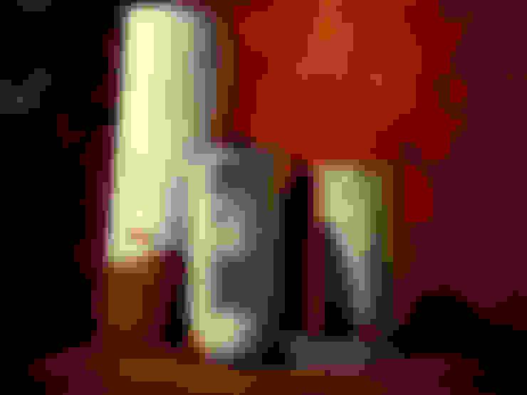 Blanc Brut: Paysagisme d'intérieur de style  par Tassara Céramiques