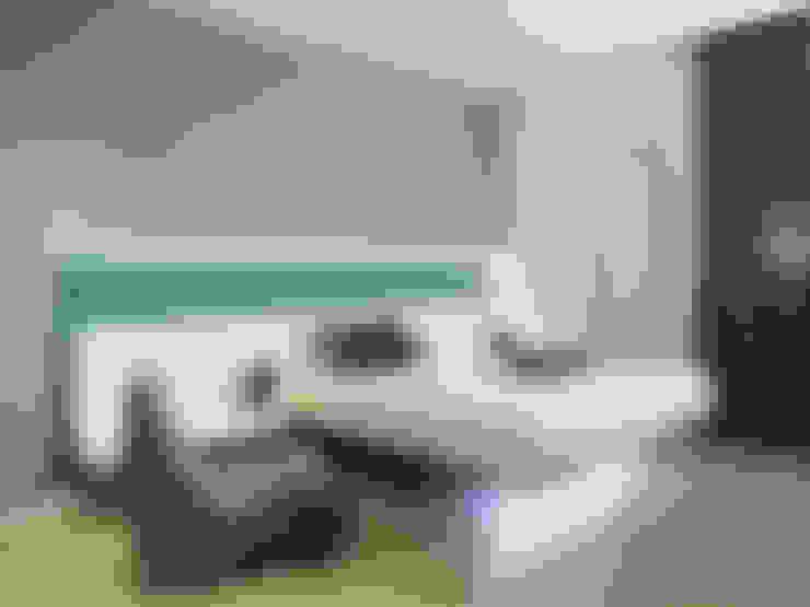 Cuartos de estilo  por Laboratorio di Progettazione Claudio Criscione Design