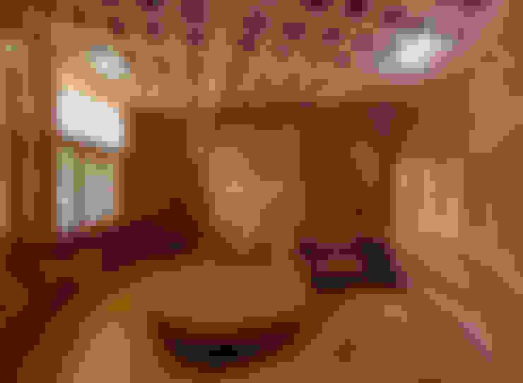 Brick House, Wada:  Bedroom by iSTUDIO Architecture