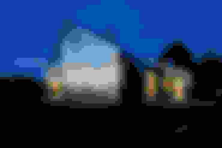 Casas de estilo  por Jarmund/Vigsnæs AS Arkitekter MNAL