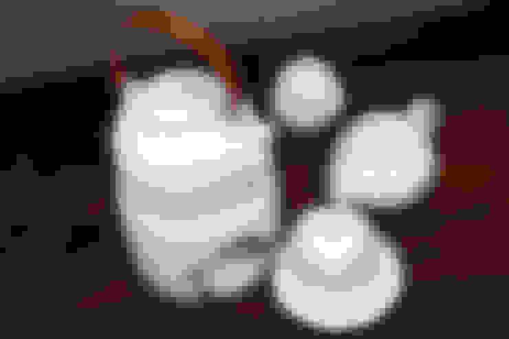 참외무늬 은칠 다기세트: 도농도예의  주방