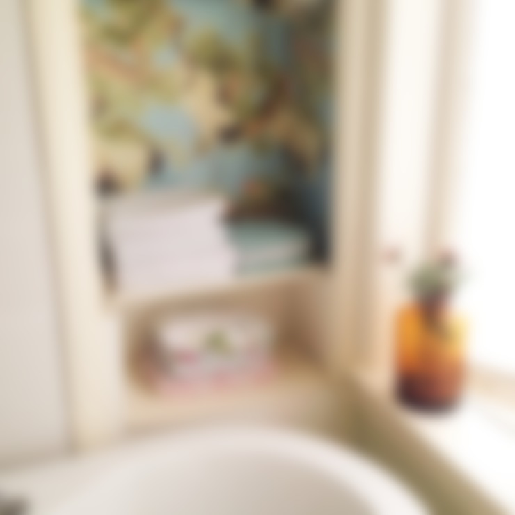 Voorbeelden:  Badkamer door Retroloekie
