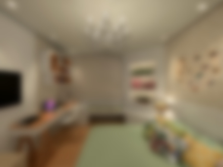 Bedroom by Konverto Interiores + Arquitetura