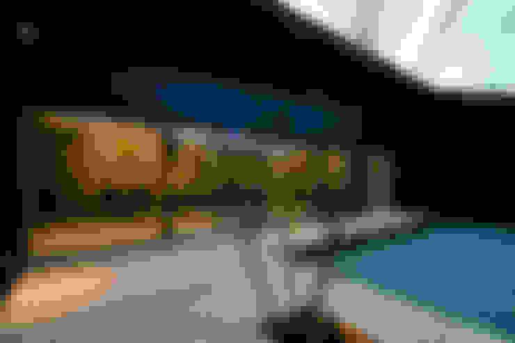 有限会社TAO建築設計의  베란다