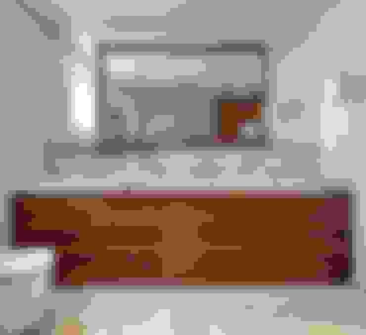 HANDE KOKSAL INTERIORS – House E - E Evi:  tarz Banyo