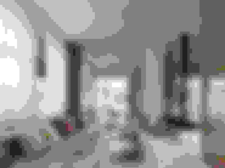 Ippolito Fleitz Group – Identity Architects:  tarz Oturma Odası