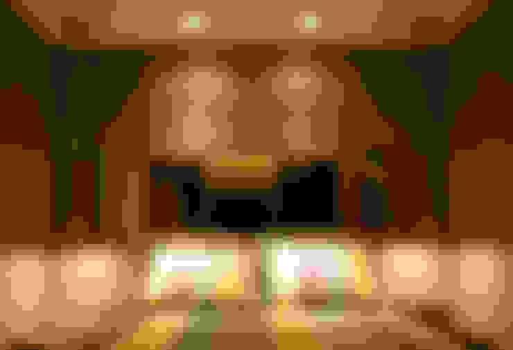 Quarto Casal : Salas de estar  por Leles Arquitetura e Iluminação