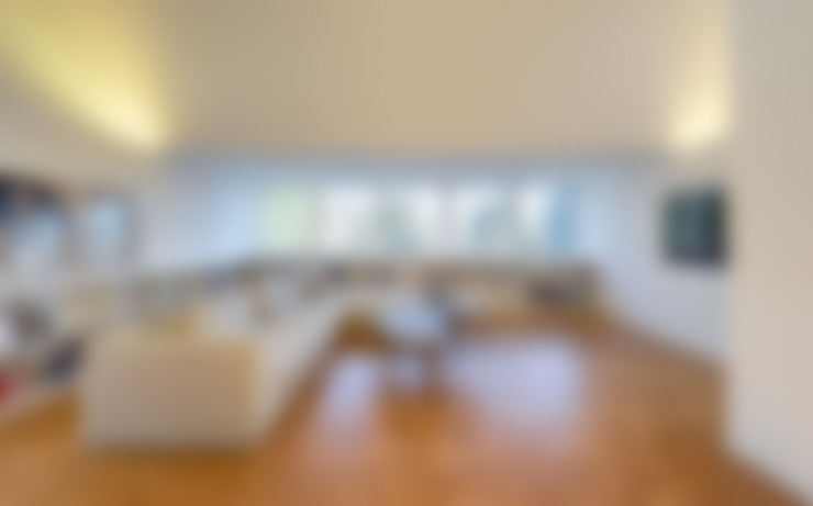 غرفة المعيشة تنفيذ Möhring Architekten
