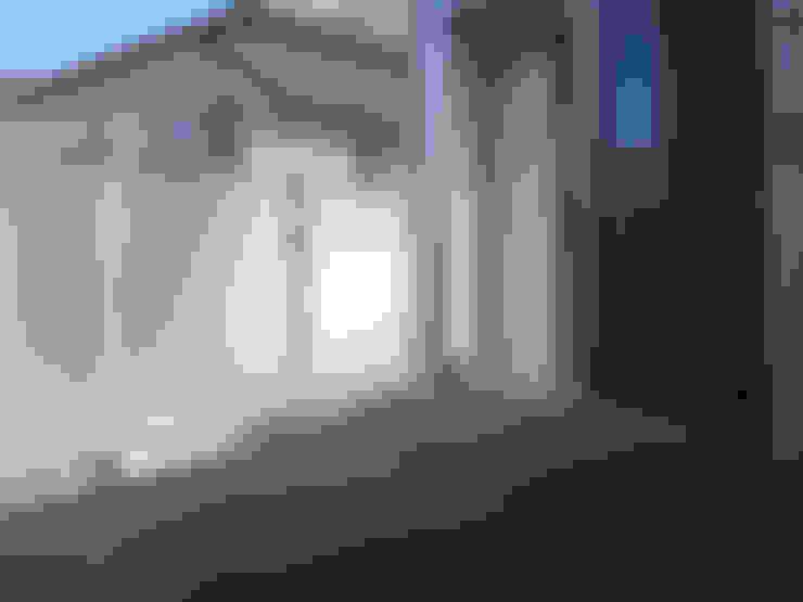 Hiên, sân thượng by 家山真建築研究室 Makoto Ieyama Architect Office