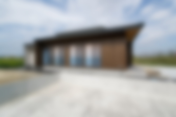 Casas de estilo  por 藤田渉建築設計事務所