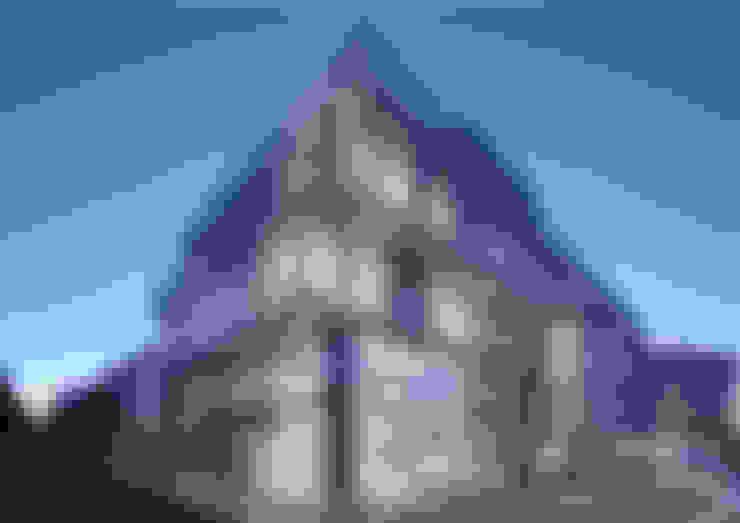 Avci Architects – AVCIARCHITECTS_01_EXTERIOR_NIGHT:  tarz Ofis Alanları