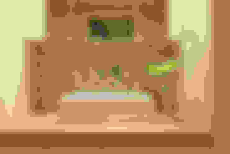 ห้องน้ำ by TATO DESIGN:タトデザイン株式会社