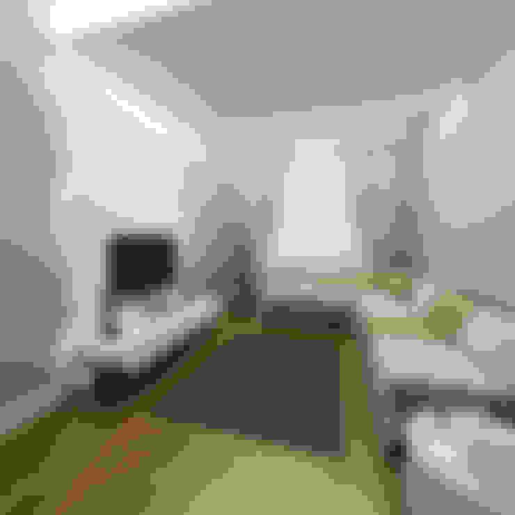 Niyazi Özçakar İç Mimarlık – SANABEL KONAKLARI:  tarz Oturma Odası