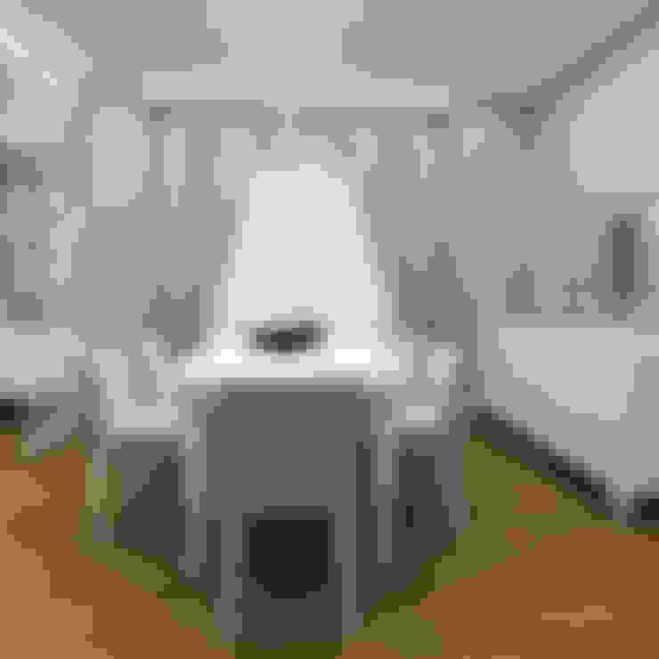 Niyazi Özçakar İç Mimarlık – SANABEL KONAKLARI:  tarz Yemek Odası