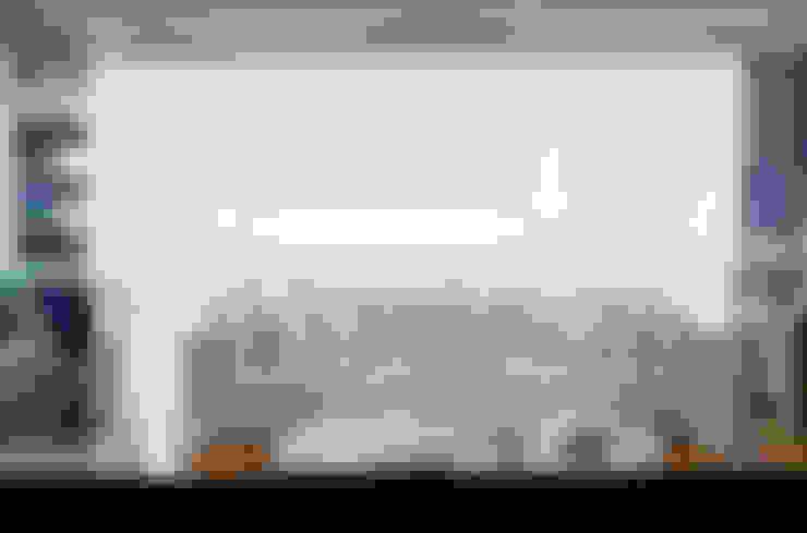 Brunete Fraccaroli Arquitetura e Interiores:  tarz Oturma Odası