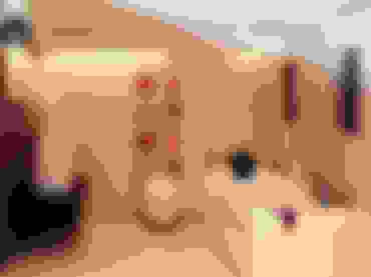 Salle de bains de style  par home makers interior designers & decorators pvt. ltd.