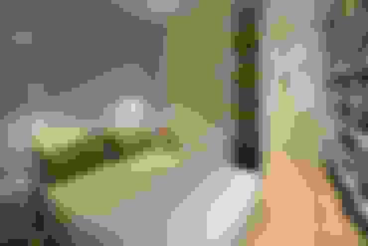غرفة نوم تنفيذ ministudio architetti