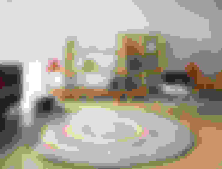 [디자인카페트,원형카페트] LINEAR: CAURA CARPET의  벽 & 바닥