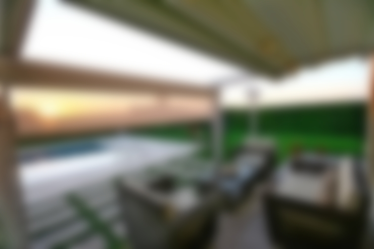 Balcon, Veranda & Terrasse de style  par Enda Yapı