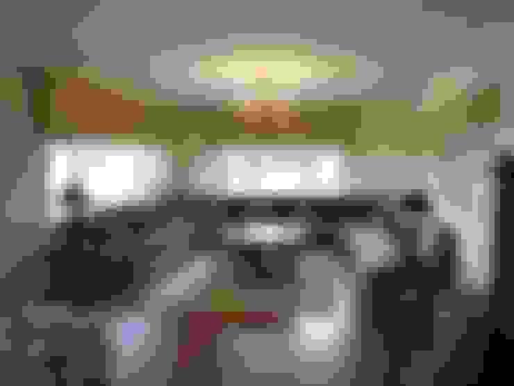 PİLE PERDE – Perde Tasarım:  tarz Oturma Odası