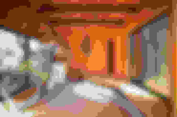 Garage/schuur door 長井建築設計室