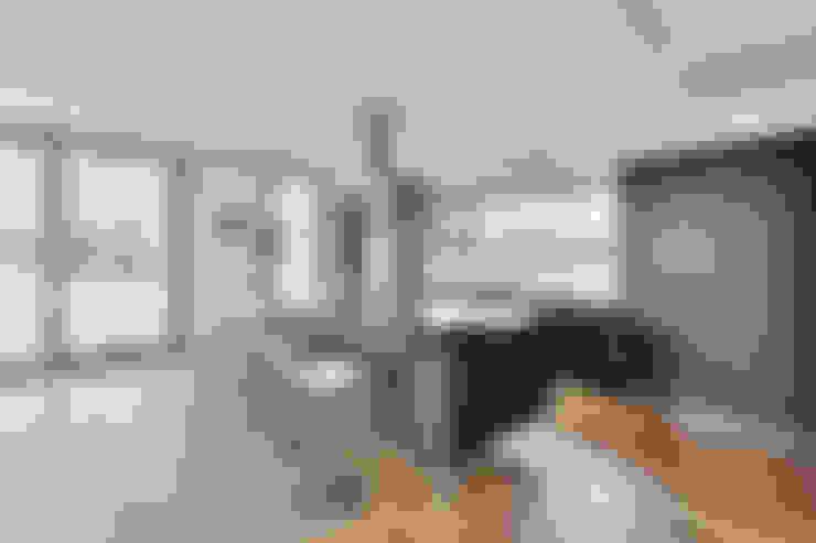Projekty,  Kuchnia zaprojektowane przez Grossmann Architekten