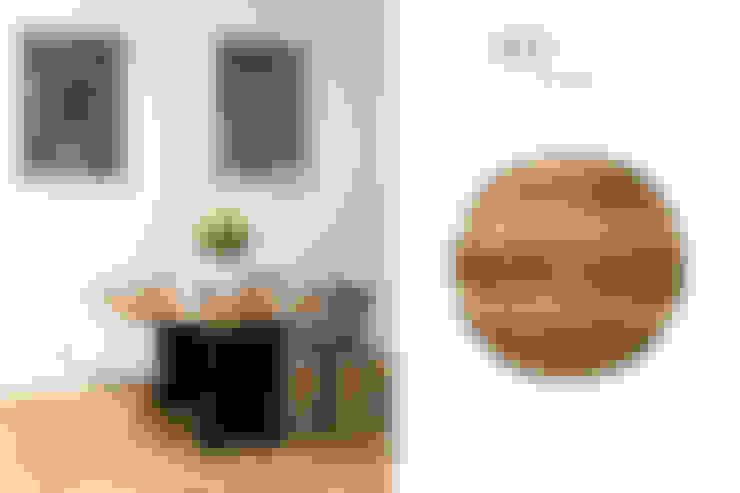 UNIKATOWE STOŁY DREWINANE WOOD ACCENT: styl , w kategorii Jadalnia zaprojektowany przez WOOD ACCENT