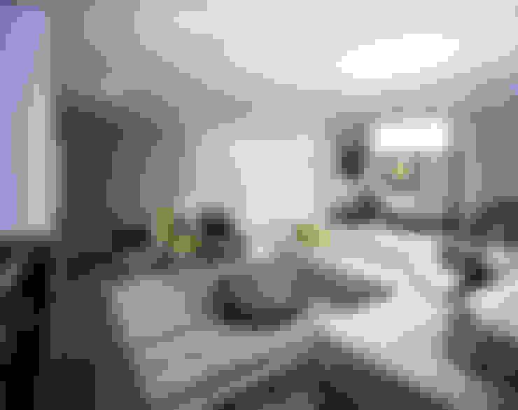 غرفة المعيشة تنفيذ KSR Architects