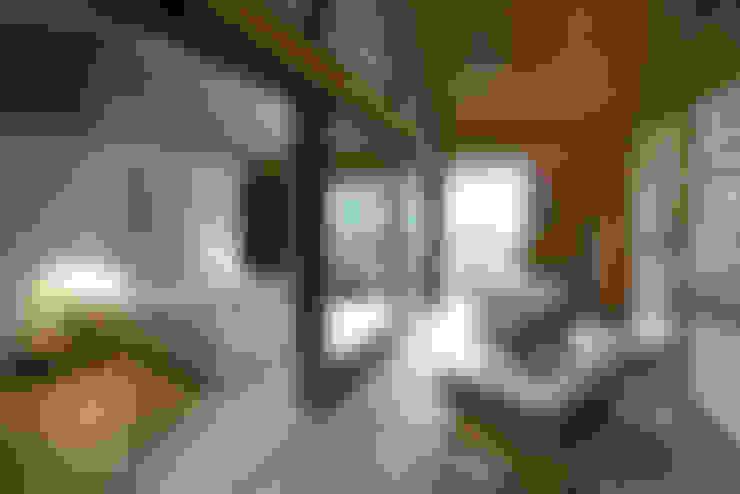 Спальни в . Автор – Nicolas Tye Architects