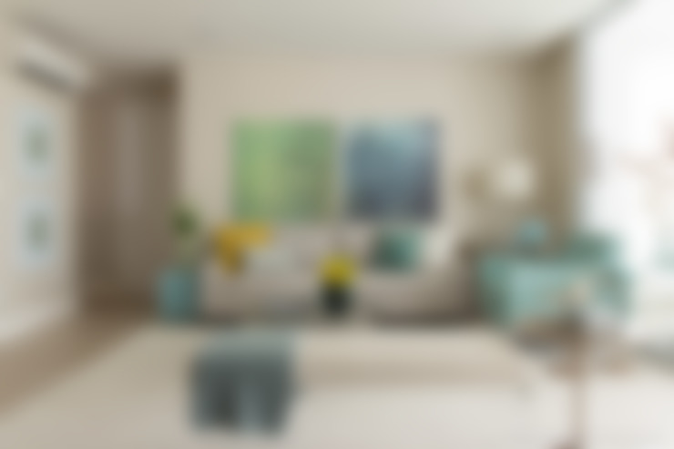 Living Room: Salas de estar  por Marilia Veiga Interiores