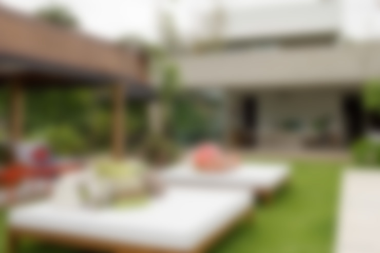 Jardim: Terraços  por Marilia Veiga Interiores