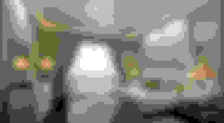 Ayaz Ergin İç Mimarlık  – DUHOK - Villa:  tarz Yatak Odası