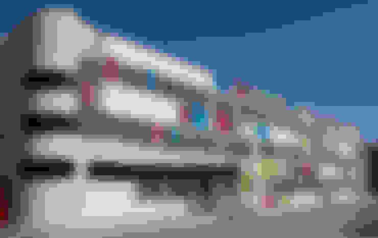 Boyut Mimarlık Ltd. – Eskim Boya İdari Bina Yenilemesi:  tarz Ofis Alanları