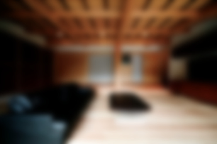 Salas / recibidores de estilo  por 建築設計事務所 山田屋