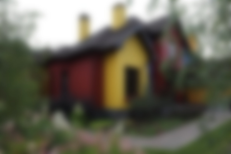 Подмосковный загородный дом для отдыха большой семьи и приема гостей  : Дома в . Автор – AlenaPolyakova.com